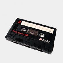 numérisation cassette audio