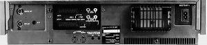 Face arrière Panasonic NV-FS100