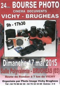 bourse photo cinema vichy brugheas