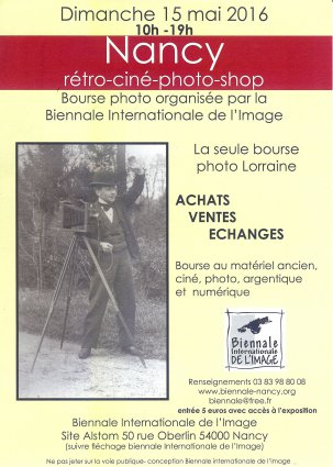 bourse retro cine photo2016 nancy