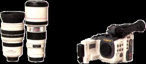 canon EX2 objectifs