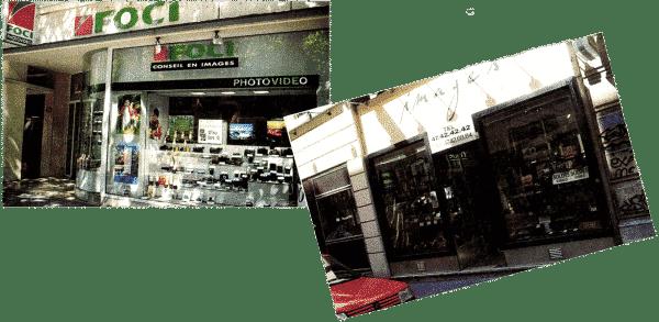 Magasins Images et magasins FOCI
