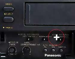 Fonction Panasonic NV HV 101