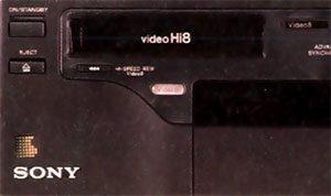 Sony ev t1b Vidéo 8