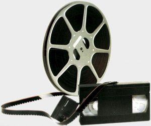 Bobine Film Cassette DV et VHS