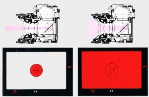 Mesure intégrale & sélective Leica R5