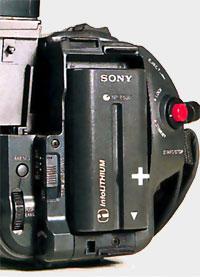 Batterie Sony CCD TR 810E