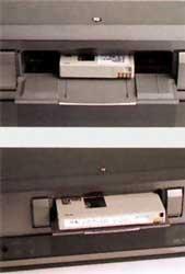 chargement cassette Sony DHR 1000