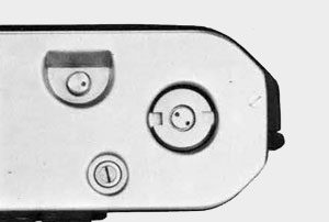 Nikon F2 dessous boitier