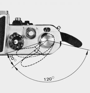 Levier armement Nikon F2
