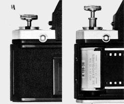 Nikon F2 molette rembobinage