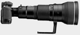 Nikon F5 avec Télé