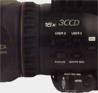 Capteur Panasonic AG-DVC30