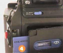 Memory Stick Sony DCR TRV950