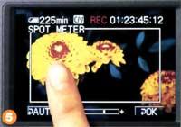 Réglages Tactiles Sony DCR TRV950