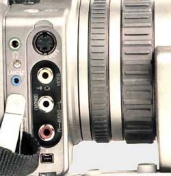 Connectique DCR VX 2100