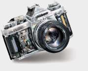 Eclaté Nikon FM3A