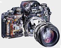 Eclaté Nikon F3