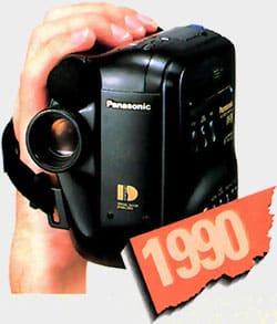 10 ans caméscope 1990