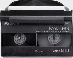 Cassette Video 8