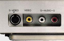 Connecteurs face avant JVC HR S-7500