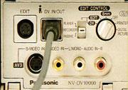 Connexion DV Panasonic NV-DV 10000