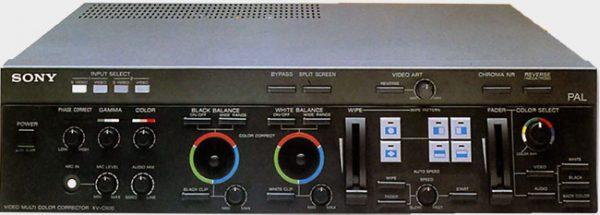 Correcteur vidéo Sony XV-C 900