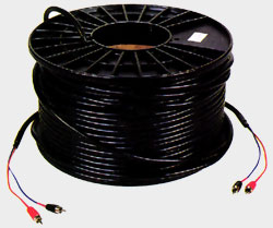 rouleau cable RCA