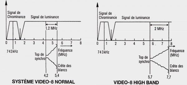 Signal Video 8 v/s Hi8
