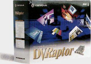 Boite Canopus-DVRaptor