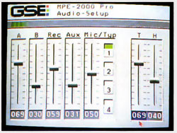 GSE MPE 2000 Pro Audio programmable