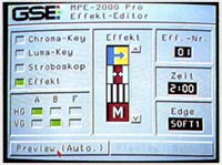 GSE MPE 2000 Pro Effets