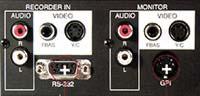 GSE MPE 2000 Pro connectique
