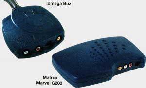 IomegaBuz & Matrox Marvel G200