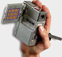 ergonomie JVC-GR-DVX7