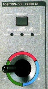 Luma Chroma Panasonic AVE 55