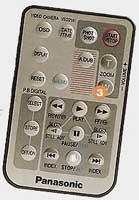 Télécommande Panasonic NV DS33