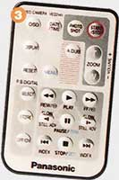 Télécommnade Panasonic-NV-EX1EG-4