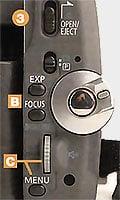 Réglage Canon MV30