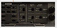 Trappe réglages DSR-250P