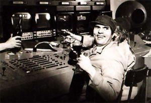 Averty l'O.R.T.F. en 1971.