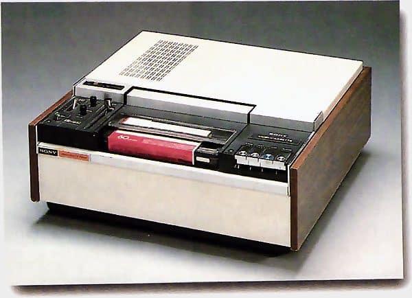 Magnétoscope U-Matic