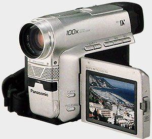 Caméscope Panasonic-NV-DS33EG