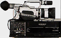 Sony VX1000 + Panasonic-NV-HS900