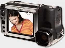 Sharp VL-DC1S en mode selfies