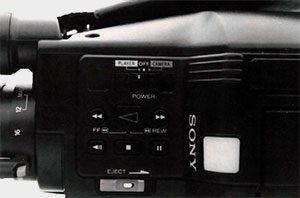Commande Sony CCD V90