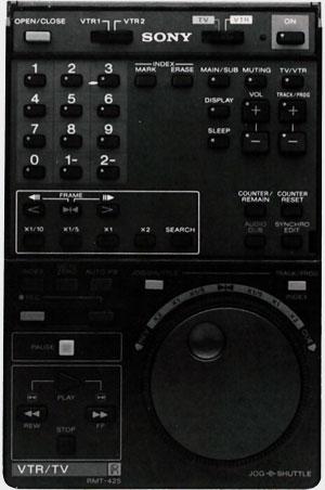 Télécommande Sony EV-S800