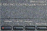 Sélection sources Sony RM-E 1000