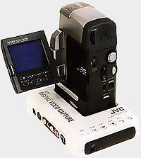 Sabot montage JVC GR-DVM1
