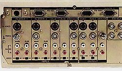 Connectique Sony FXE-120P